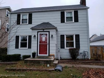 Freehold Single Family Home Under Contract: 5 Ellis Street