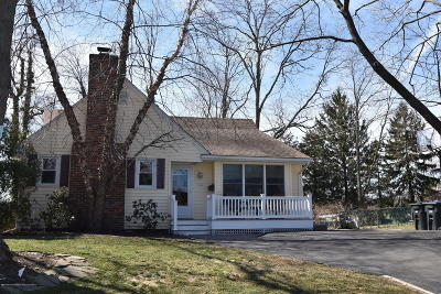 Manasquan Single Family Home Under Contract: 1121 Pennsylvania Avenue