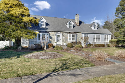 Sea Girt Single Family Home For Sale: 103 Trenton Boulevard
