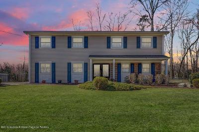 Morganville Single Family Home Under Contract: 11 Fletcher Drive