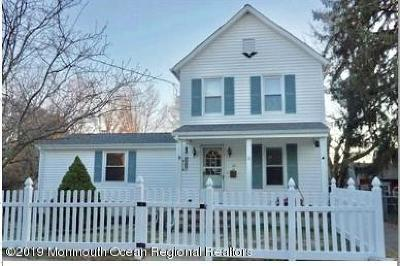 Freehold Single Family Home For Sale: 52 Bannard Street