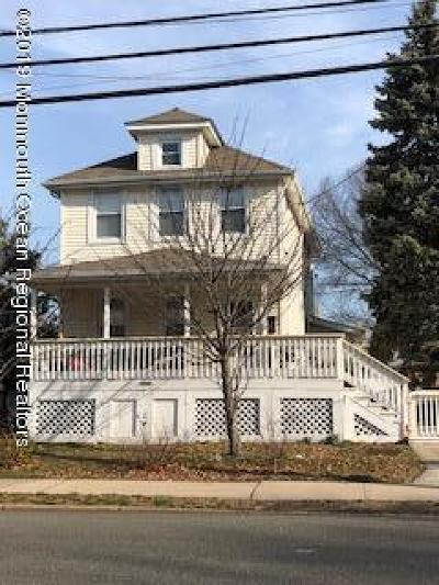 Neptune City, Neptune Township Multi Family Home For Sale: 1963 W Lake Avenue