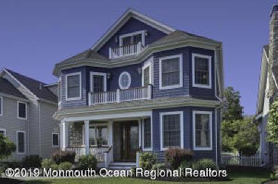 Sea Girt Single Family Home For Sale: 302 Beacon Boulevard