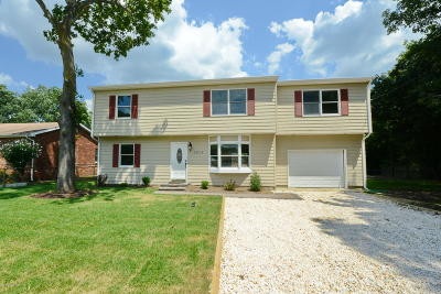 Point Pleasant Single Family Home Under Contract: 3815 Herbertsville Road
