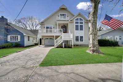 Manasquan Single Family Home For Sale: 393 E Main Street
