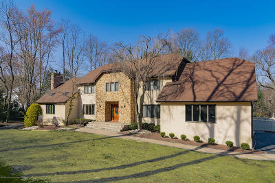 Holmdel Single Family Home For Sale: 32 Van Brackle Road