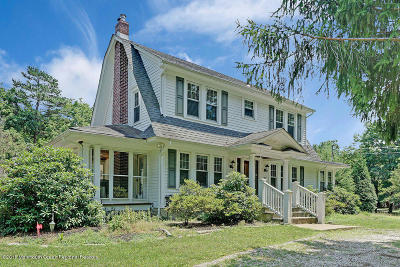 Howell Single Family Home Under Contract: 107 Brown Road