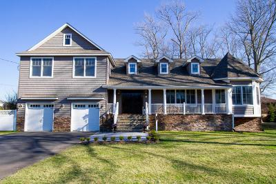 Long Branch, Monmouth Beach, Oceanport Single Family Home Under Contract: 42 Manitto Place