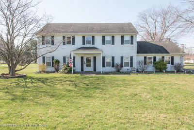 Freehold Single Family Home For Sale: 551 Adelphia Road