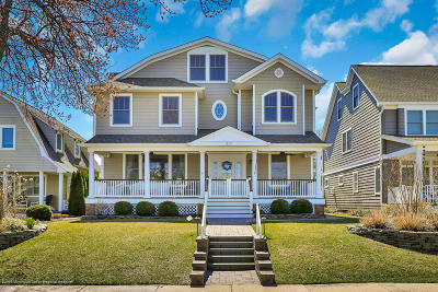 Avon-by-the-sea, Belmar Single Family Home Under Contract: 217 Norwood Avenue