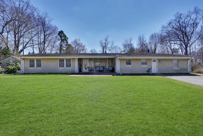 Ocean Twp Single Family Home For Sale: 612 Deal Road