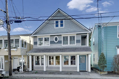 Ocean Grove Single Family Home For Sale: 38 McClintock Street