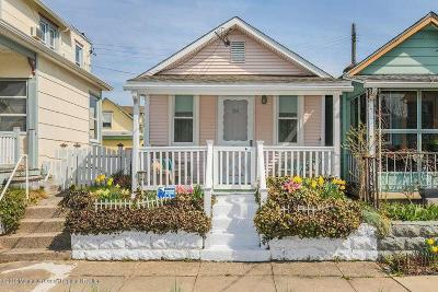 Ocean Grove Single Family Home For Sale: 107 1/2 Cookman Avenue