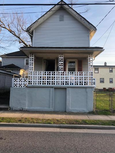 Asbury Park Single Family Home For Sale: 1310 Summerfield Avenue