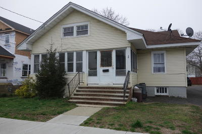 Long Branch Single Family Home For Sale: 26 N 5th Avenue