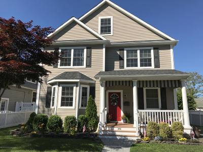 Manasquan Single Family Home For Sale: 372 Euclid Avenue