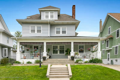 Bradley Beach Single Family Home Under Contract: 408 3rd Avenue