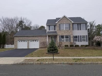 Howell Single Family Home Under Contract: 18 Nate Lane