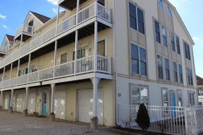 Seaside Heights Condo/Townhouse For Sale: 33 Sumner Avenue #1