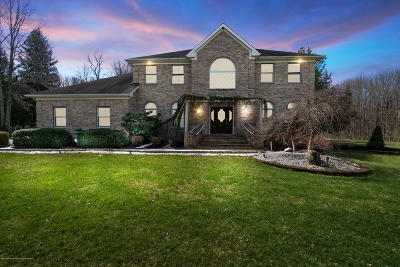 Freehold Single Family Home Under Contract: 341 Stone Hill Road