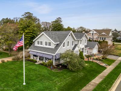 Sea Girt Single Family Home For Sale: 201 Baltimore Boulevard