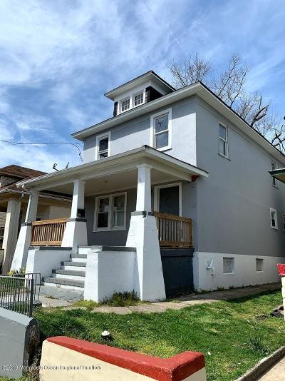 Asbury Park Multi Family Home Under Contract: 1307 Bangs Avenue