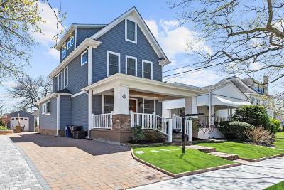 Bradley Beach Single Family Home For Sale: 306 Central Avenue