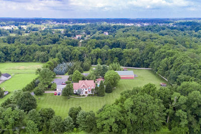 Monmouth County Farm For Sale: 142 Hillsdale Road