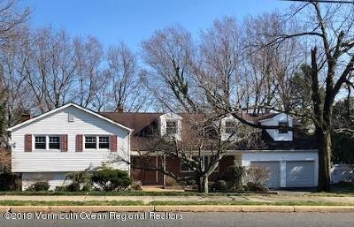 Ocean Twp Single Family Home For Sale: 56 Cold Indian Springs Road