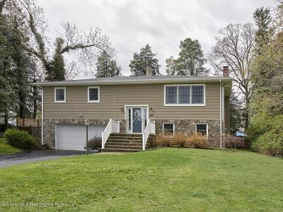 Brielle Single Family Home For Sale: 645 Agnes Avenue