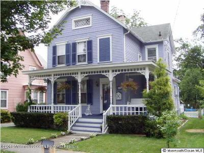 Freehold Single Family Home For Sale: 62 Broad Street