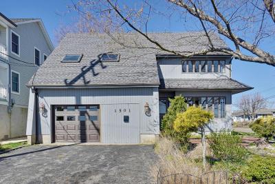 Point Pleasant Beach Single Family Home For Sale: 1501 St Louis Avenue