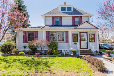 Point Pleasant Single Family Home For Sale: 1112 Pine Bluff Avenue