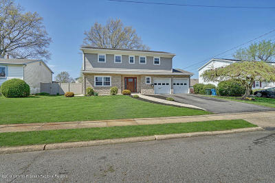 Hazlet Single Family Home Under Contract: 9 Cresci Boulevard