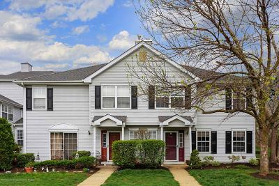 Morganville Condo/Townhouse Under Contract: 589 Windflower Court