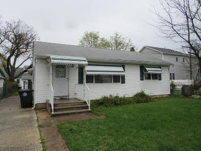 Wall Single Family Home For Sale: 1702 Beverly Street