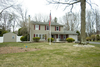 Matawan Single Family Home Under Contract: 3 Sutton Court