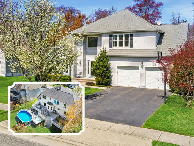 Spring Lake Single Family Home Under Contract: 1090 Hawthorne Parkway