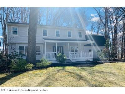Freehold Single Family Home Continue To Show: 150 Kings Mountain Road