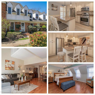 Spring Lake Condo/Townhouse For Sale: 40 Wyckham Road