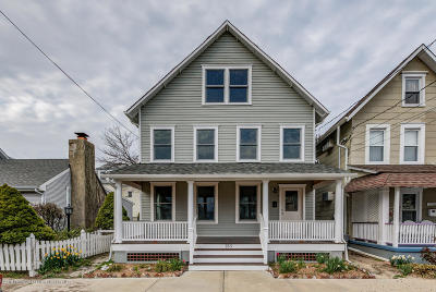 Neptune Twp, Ocean Grove Single Family Home For Sale: 133 Abbott Avenue