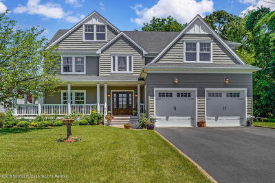 Manasquan Single Family Home For Sale: 2652 River Road