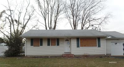 Ocean County Single Family Home For Sale: 458 Barnacle Road