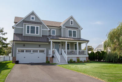 Long Branch, Monmouth Beach, Oceanport Single Family Home Under Contract: 16 Riverdale Avenue