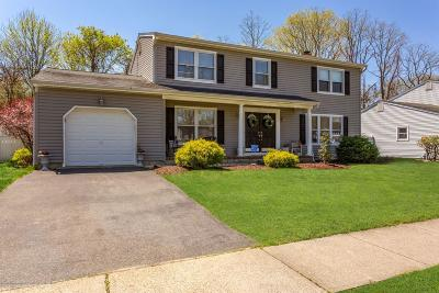 Howell Single Family Home For Sale: 10 Cherry Tree Circle