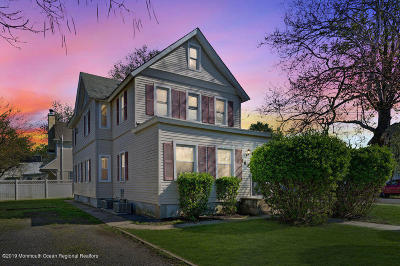 Red Bank Multi Family Home Under Contract: 180 River Street
