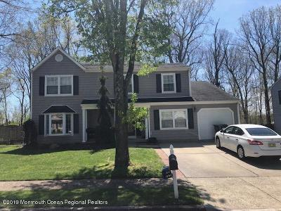 Howell Single Family Home For Sale: 10 Weymouth Drive
