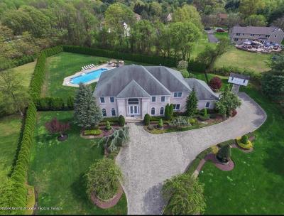 Holmdel Single Family Home For Sale: 4 Freemont Lane