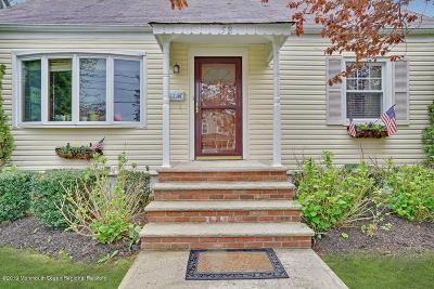 Red Bank Single Family Home For Sale: 58 John Street