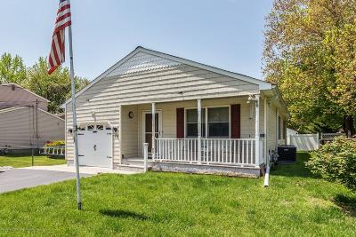 Middletown Single Family Home Under Contract: 76 2nd Street